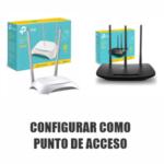 Configurar router tp-link como punto de acceso