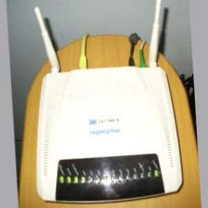 configurar modem fibra optica Telmex