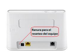 resetear modem telmex