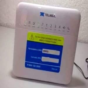 bloquear dispositivos modem telmex