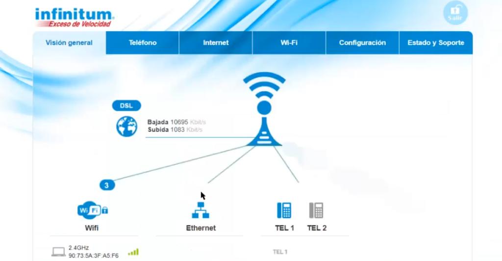 telmex dispositivos conectados