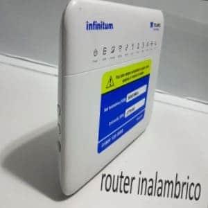 usar modem infinitum como router inalambrico
